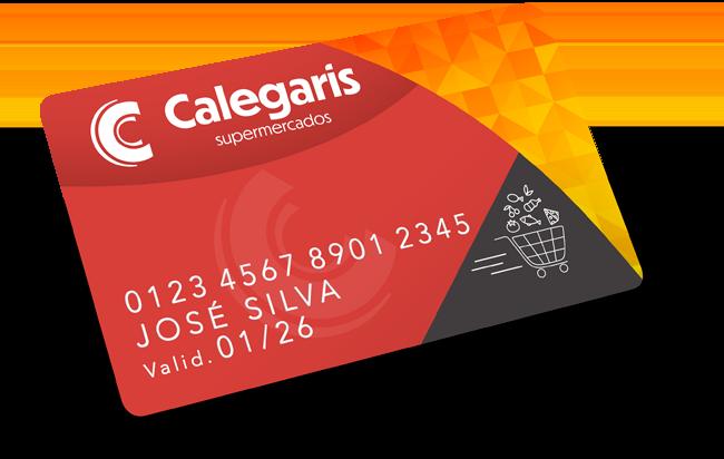 Cartão Calegaris